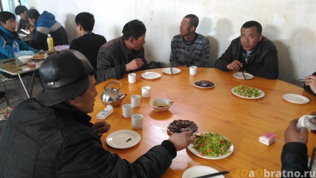 Где едят простые китайские рабочие 5
