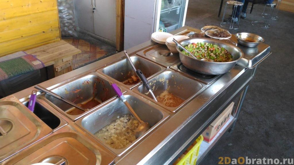Где едят простые китайские рабочие 6