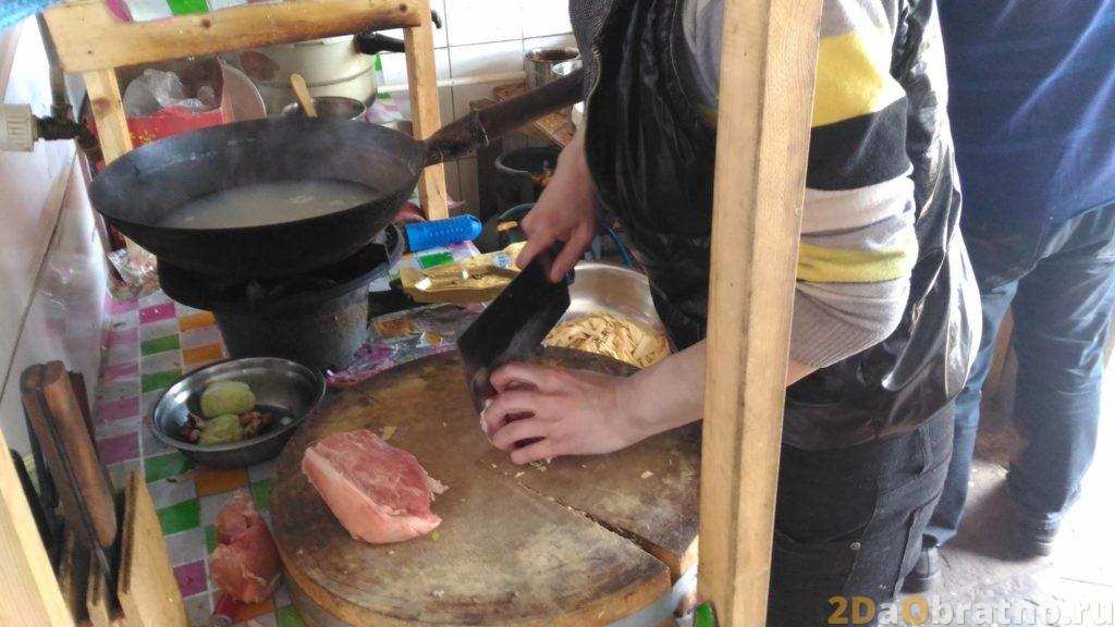 Где едят простые китайские рабочие 7