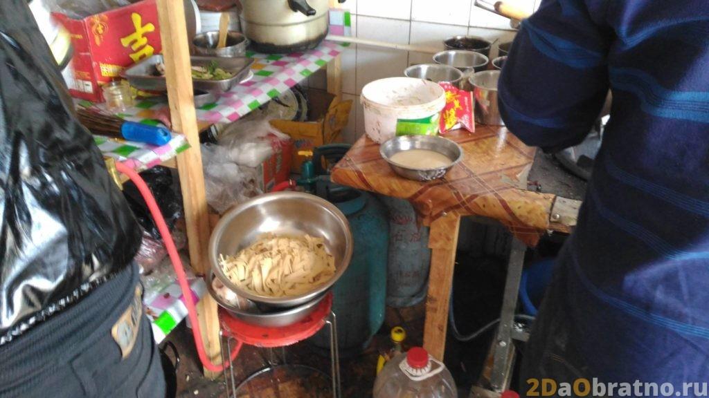 Где едят обычные китайские рабочие 8