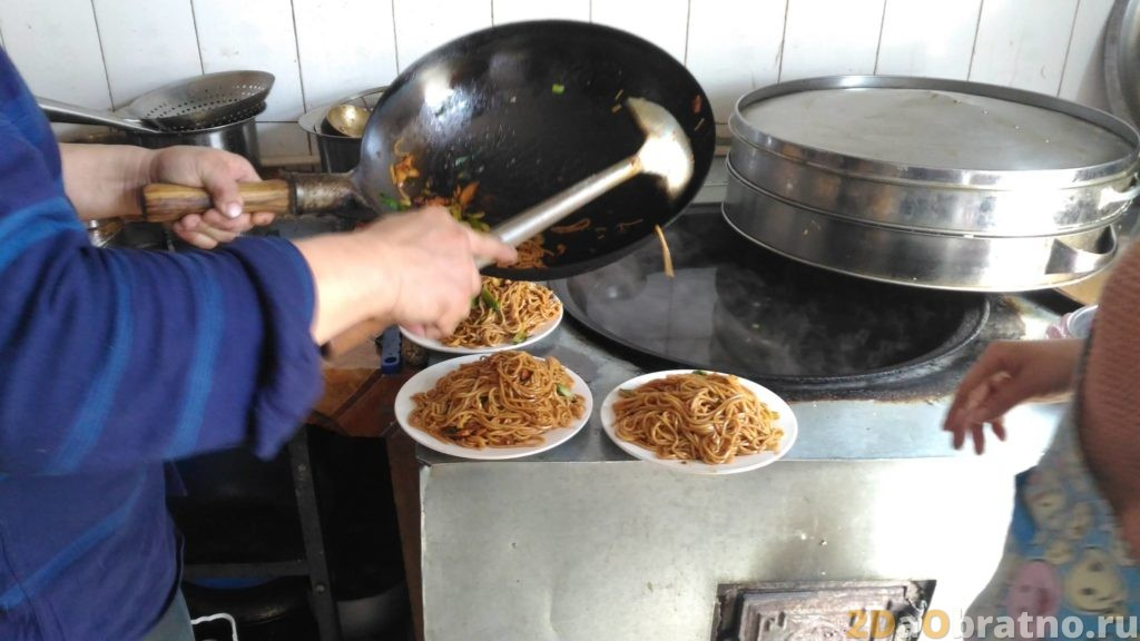 Где едят простые китайские рабочие 10