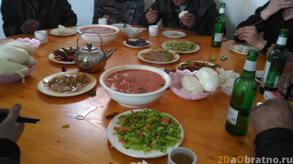 Где едят обычные китайские рабочие 15