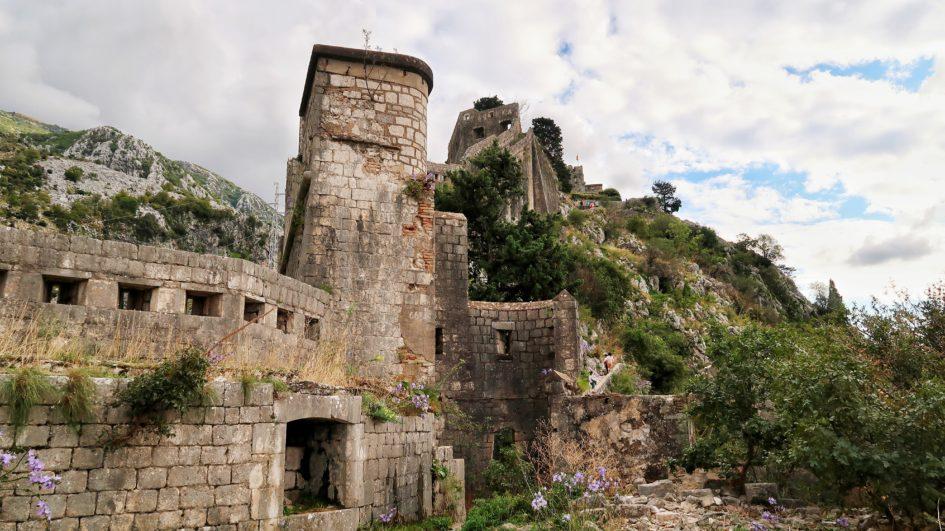 Котор: Крепость Святого Иоанна.